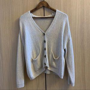 Zara Knit Beige Oversized Sweater